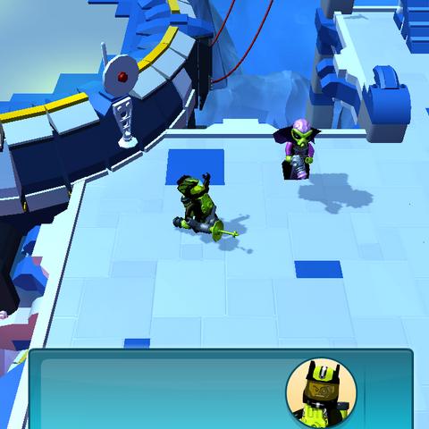 Shadrack Circuit-Burn as seen in a cutscene, along with <a href=