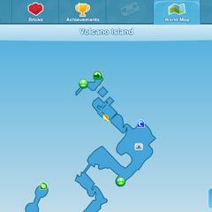Second Treasure location map
