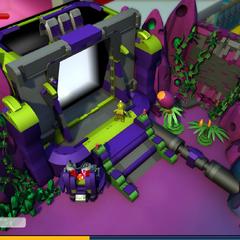 The new Alien entrance. Replaced the original Blacktron entrance.