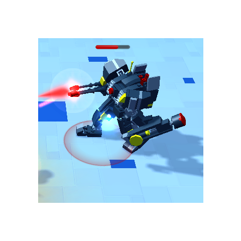 Battle Bot X-15 in-game