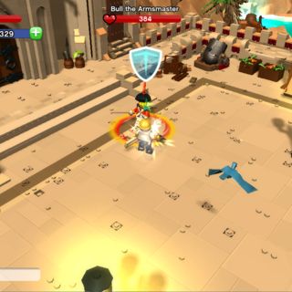 Bull the Armsmaster In-Game