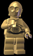 LEGO C3PO Pose
