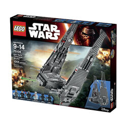 Kylo Ren's Command Shuttle boxed