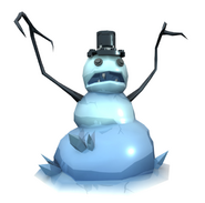 Infected snowman