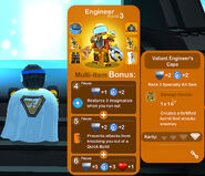 Engineer Valiant Cape