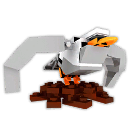 Seagull render