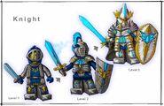 Knight layout