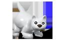 White Cat Hatchling