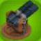 Castle Barrel Gun Model