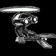Flying Trimmer Robotonist