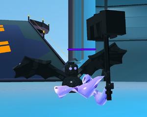 Grumpy Darkling in-game