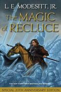 The Magic of Recluce (cover Tor 2011)