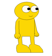 GOLD YELLOW GUY SPRITE TRANS