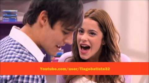 """Violetta - León and Violetta sing """"More Tears"""" (English) With Lyrics"""