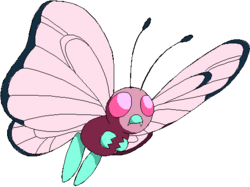 012 Butterfree OS3 Pink