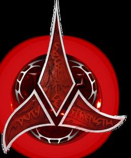 Klingon Red Logo