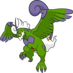 641 Tornadus Therian DW Shiny