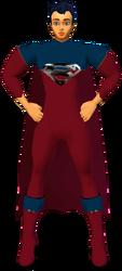 Superman RedBlu Musclesuit
