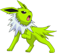 Shiny Jolteon BW
