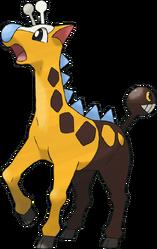 203 Girafarig Shiny