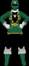 Gokai Green F1