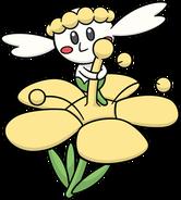 Flabébé Yellow Flower DW