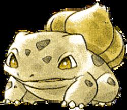 001 Bulbasaur RG2 Gold