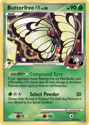 012 Butterfree SV17