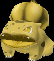 001 Bulbasaur PS Gold