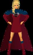 Supergirl RedBlu Skirt 5