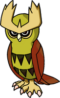 164 Noctowl Shiny
