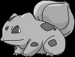 001 Bulbasaur OS1 Silver