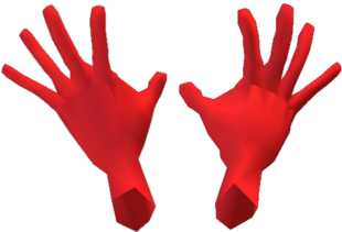 Time Force Red Gloves