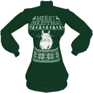 Xmas Totoro Sweater
