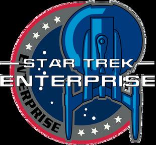 Star Trek Enterprise Patch Title