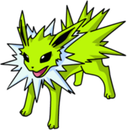 Shiny Jolteon OS