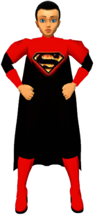 BlkFire Superman