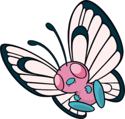 012 Butterfree DW Pink