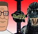 Hank Hill vs Godzilla
