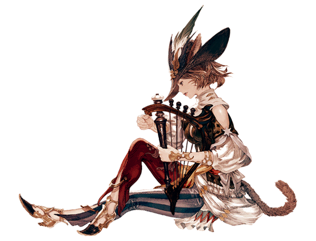 File:Miqo'te Bard Artwork XIV.png