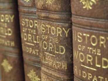 579240-closeup-picture-of-a-row-of-old-history-books