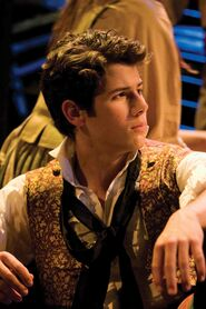 Nick Jonas as Marius
