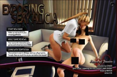 Exposing Sexy Alicia