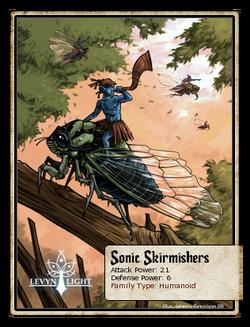 Sonic Skirmishers