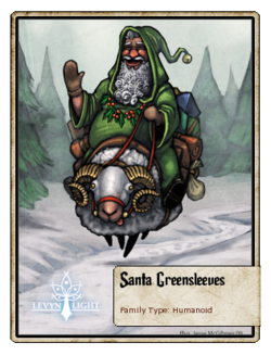 Santa Greensleeves