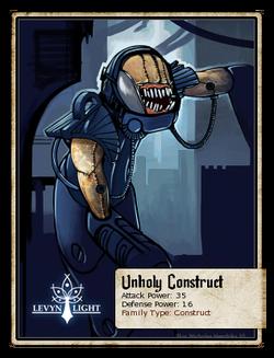 Unholy Construct