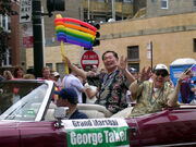 George Takei Chicago Gay & Lesbian Pride 2006