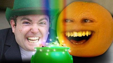 Annoying Orange Luck o' the Irish