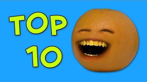 Liam's Top Ten Most Annoying Annoying Orange Videos