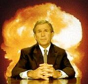 George-bush-leads-the-us-towar